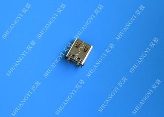 Electrical SMT DIP 24 Pin USB Connector USB 3.1 Type C Female 10000 Cycles